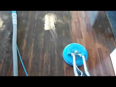 Linoleum cleaning