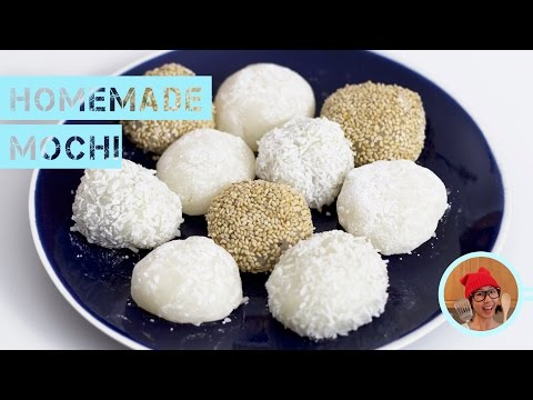 Homemade Mochi -- Super Simple!