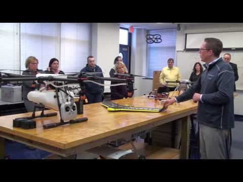 Career Advisory Group Visits NMC's Unmanned Systems Program