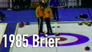 Al Hackner (NO) vs. Pat Ryan (AB) - 1985 Brier Final