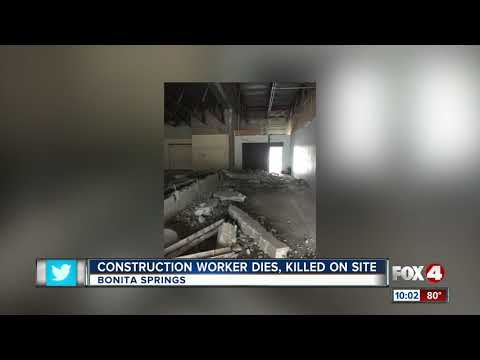 Man killed in construction accident in Bonita Springs