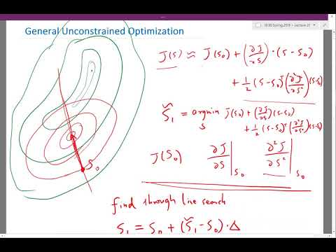 General Unconstrained Optimization Part 2