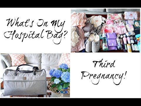 Whats In My Hospital Bag? Third Pregnancy