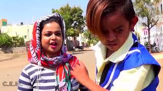 "Desi Chhotu English Mem ""Part 1,2,3,4""छोटू की नयू LOVE STORY | Khandeshi Comedy Video"