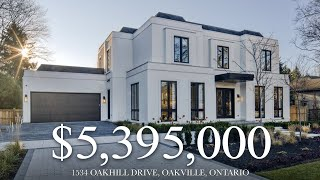 $5,395,000 - Luxury Home by PCM, Designed by Brian Glukstein - 1534 Oakhill Drive, Oakville