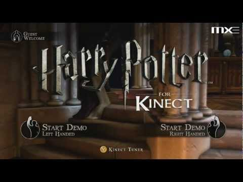 Harry Potter for Kinect - Demo Gameplay HD