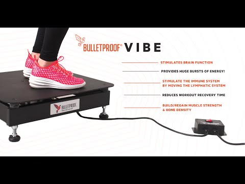 How To Do Whole Body Vibration Training with Bulletproof Vibe