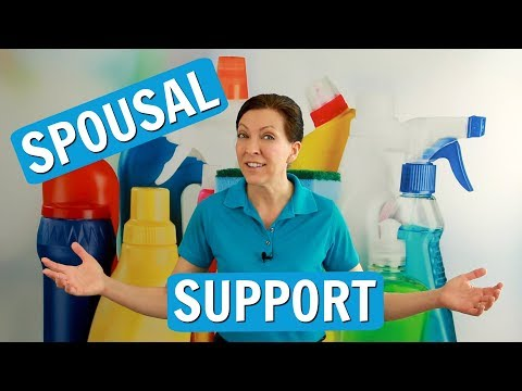 Spousal Support for House Cleaners