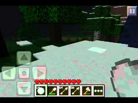 MCPE: throwing snowballs!