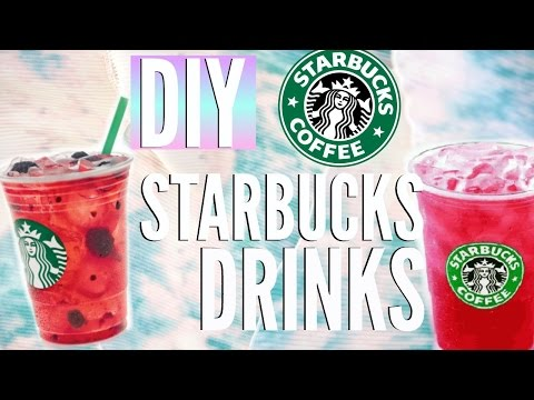 DIY Summer Starbucks Drinks | Easy Recipes for Cheap | Courtney Lundquist