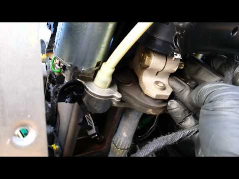 BMW X5 - Steering Angle Sensor Removal - Part 1