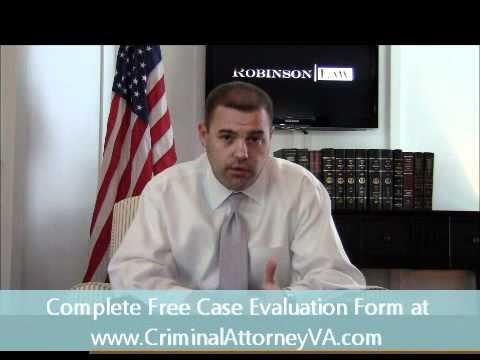 Virginia Criminal Attorney Michael Robinson, Esq.