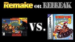 ROR: Donkey Kong Country 3 Dixie Kong's Double Trouble (SNES Vs. GBA)