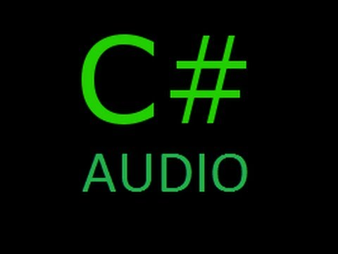 C# Sound Tutorial - Play sound with 3 Lines of Code!