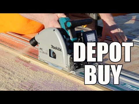 36V Makita Track Saw available at The Home Depot