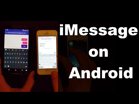 Pie Message - iMessage on Android!