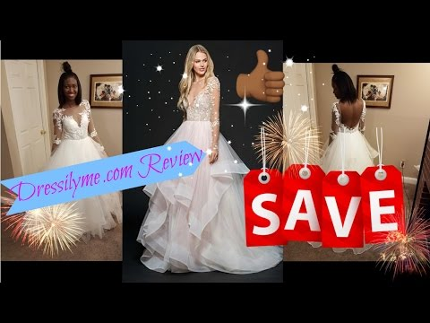 Dressilyme.com review - Wedding dress from China unboxing!