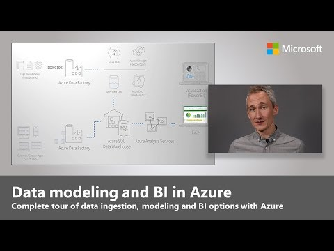 Data modeling and Business Intelligence in Azure
