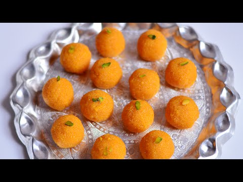 Homemade Motichoor Ladoo Recipe | Motichur Laddu Recipe | Indian Sweets