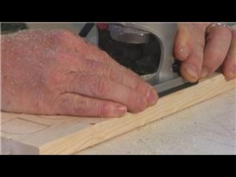 Woodworking : How to Engrave Letters Into Wood