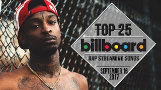 Top 25 • Billboard Rap Songs • September 16, 2017 | Streaming-Charts