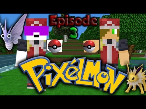 Pokeballs! [Minecraft Pixelmon Survival with The Raging Blaze Episode 3]