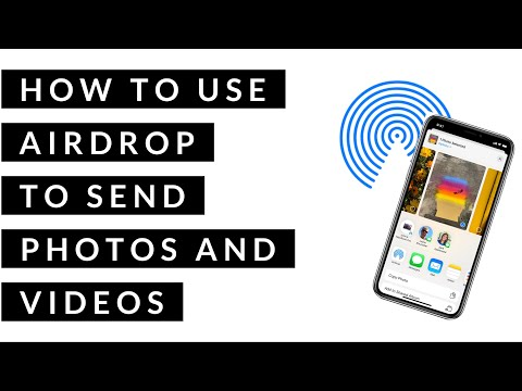 How to use Airdrop/Airdrop on Iphone