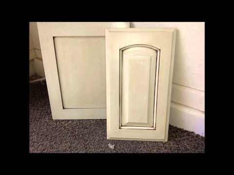 How To Antique Cabinets - Antique White by KWIK KABINETS - Cabinet Refinishing