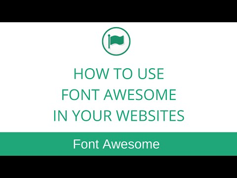 How to Use Font Awesome Icons in Your Website