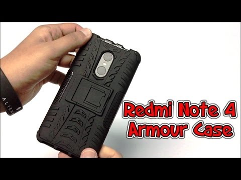 Cassiey Armour Case For Redmi Note 4 Unboxing & Overview (INDIA)