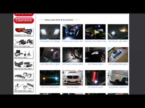 Choosing Your Car's LED Interior Package and Installation Walk Through