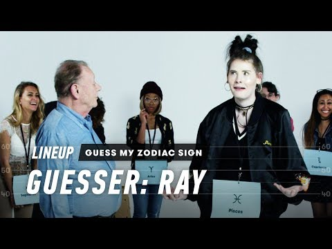 An Astrologer Guesses Strangers' Zodiac Sign (Ray)   Lineup   Cut