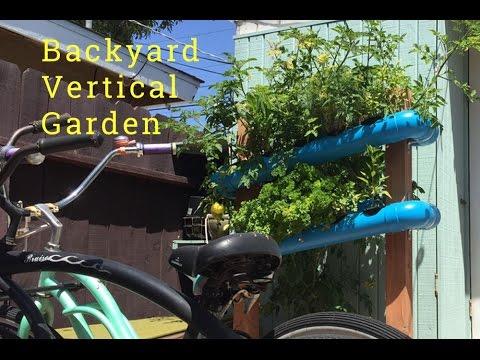 Build your own backyard vertical vegetable garden