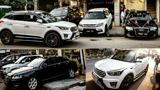 Luxury Cars under 1 Lakhs🔥| AUDI, Mercedes, Fortuner | DELHI | Tushar 51NGH