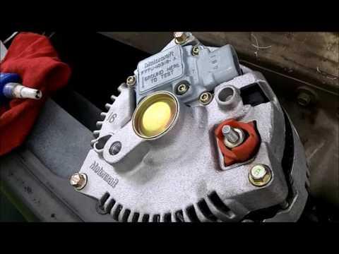DIY Alternator Replacement Ford 4.2L V6  F150 2002