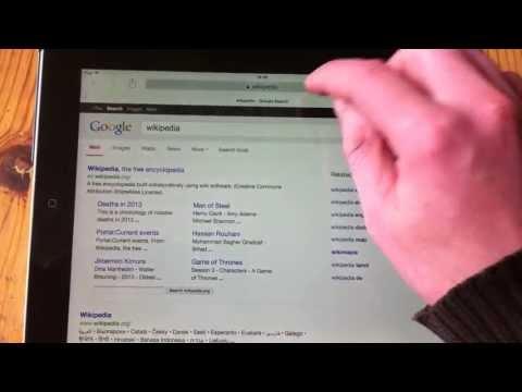 IOS7 Change Search Engine in Safari