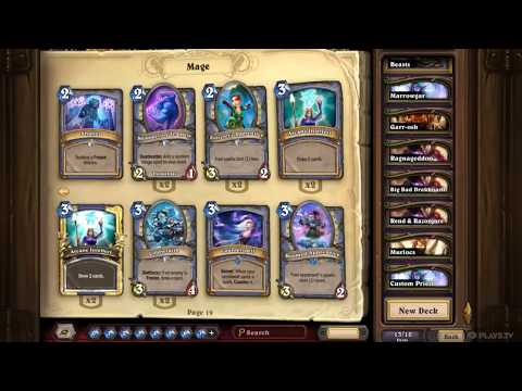 Theorycrafting: Conjurer Mage - New Witchwood Deck Archetype?