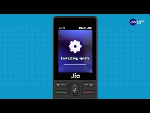 JioCare - How to Upgrade JioPhone Software (Kannada) | Reliance Jio