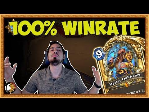 Hearthstone: 100% Winrate - Legend BIG Control Baku Dragon Warrior