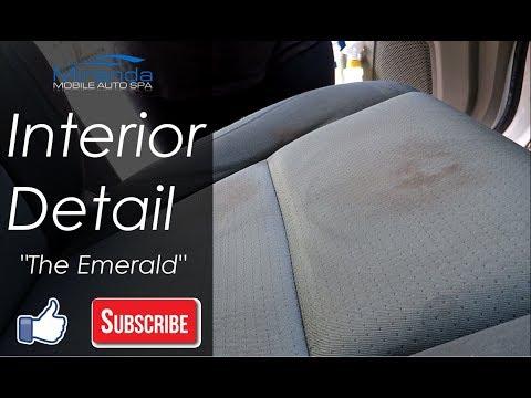 Honda Ridgeline Interior Carpet and Upholstery Cleaning -- Miranda Detailing
