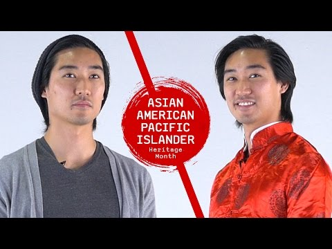 Chinese American Guys Wear Traditional Chinese Clothing For A Day