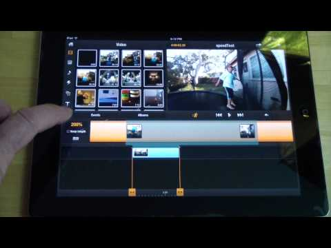 How To Do Slow Motion Video On An iPad