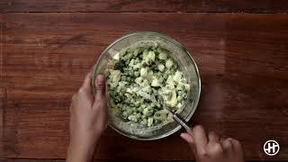 Download Egg Salad With A Twist | Heart-friendly Recipe | Salads | HealthifyMe Video