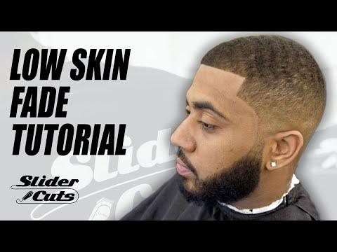 Low Skin Fade Barber Haircut Tutorial- SliderCuts