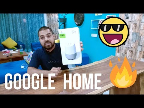 Google Home Unboxing & First look | India | Hindi