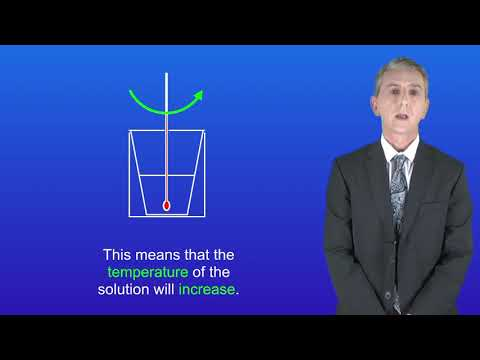 GCSE Science Chemistry (9-1) Required Practical 4: Temperature Changes