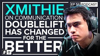 Download Xmithie on playing with Doublelift & Pobelter again, the Stopwatch meta and TSM as the NA underdog Video