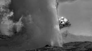 Yellowstone Update....Black Steam From Old Faithful
