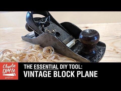 Block Plane - an ESSENTIAL DIY Tool