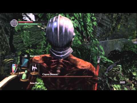 Dark Souls - Capra Demon Fight (Boss Strategy)